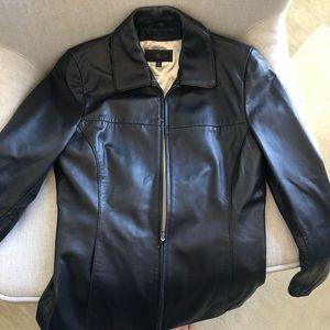Wilson's Leather women's black jacket